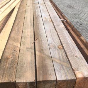 Douglas hout 100x100mm