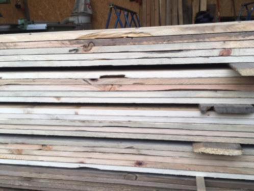 sloophouten planken lengte gezaagd