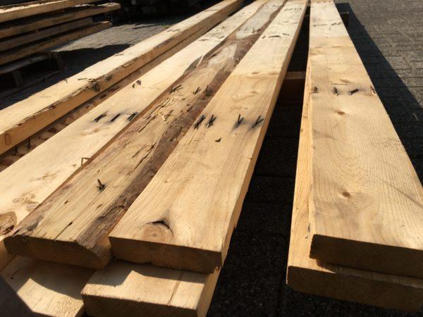 sloophout balk 40x90mm ca 3,6m