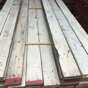 sloophouten planken wit